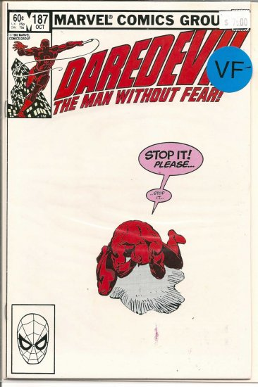 Daredevil # 187, 8.0 VF