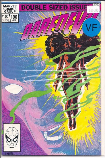 Daredevil # 190, 7.5 VF -
