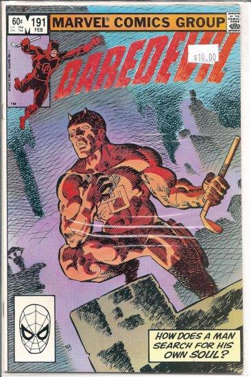 Daredevil # 191, 9.4 NM