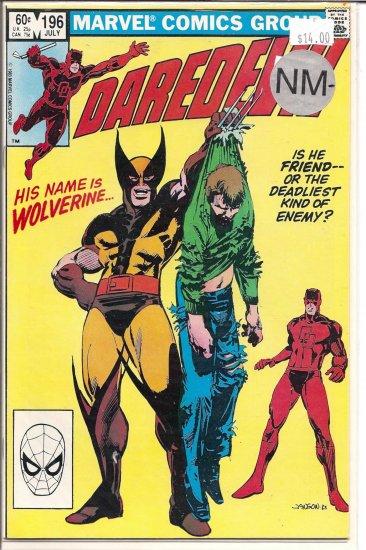 Daredevil # 196, 9.4 NM