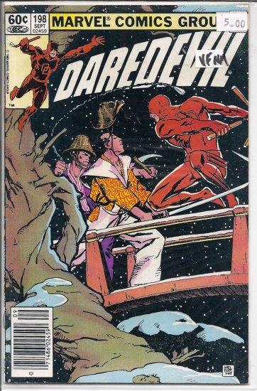 Daredevil # 198, 9.0 VF/NM