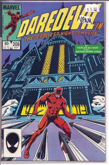 Daredevil # 208, 9.0 VF/NM