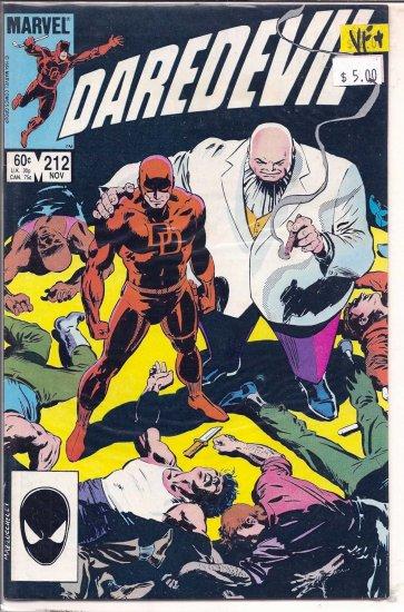 Daredevil # 212, 8.5 VF +