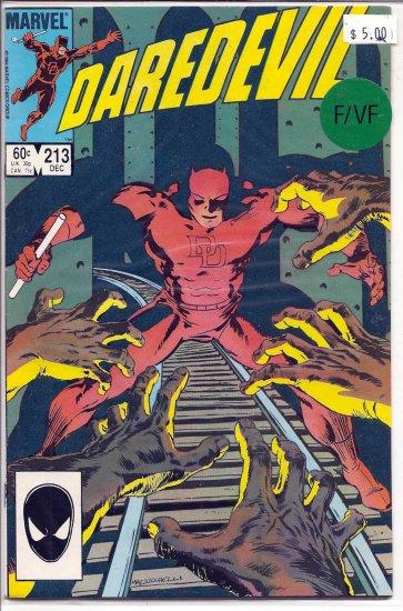 Daredevil # 213, 7.0 FN/VF