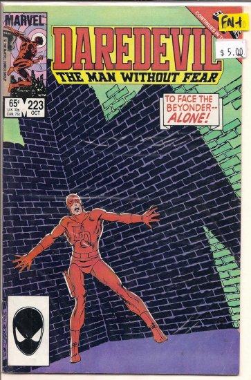 Daredevil # 223, 6.5 FN +