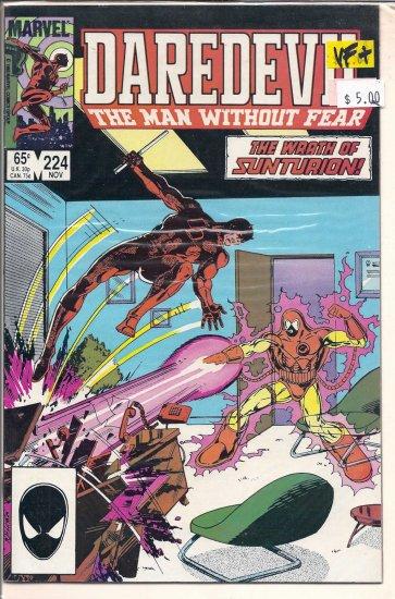 Daredevil # 224, 8.5 VF +