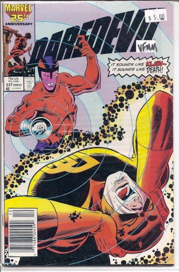 Daredevil # 237, 9.0 VF/NM