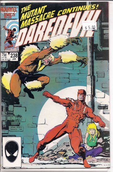 Daredevil # 238, 9.2 NM -