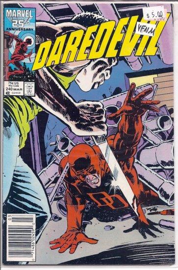 Daredevil # 240, 9.0 VF/NM