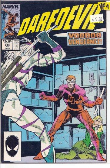 Daredevil # 244, 8.5 VF +