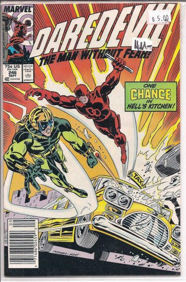 Daredevil # 246, 9.2 NM -