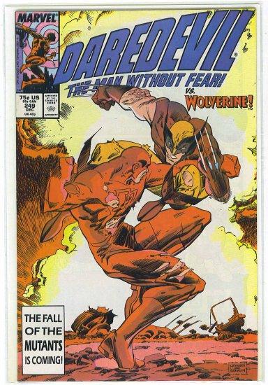 Daredevil # 249, 8.5 VF +