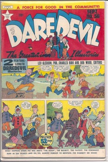Daredevil Comics # 56, 3.0 GD/VG
