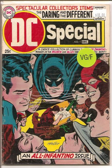 DC Special # 1, 5.0 VG/FN