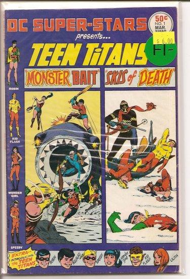 DC Super-Stars # 1, 5.5 FN -