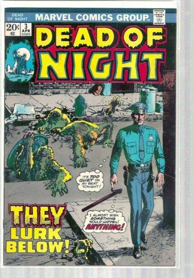 DEAD OF NIGHT # 3, 5.5 FN -