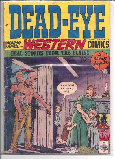 Dead-Eye Western Comics # 3, 2.0 GD