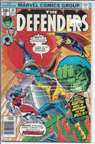 Defenders # 39, 9.0 VF/NM