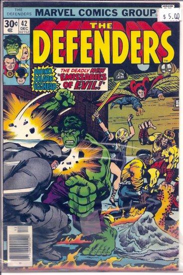 Defenders # 42, 7.0 FN/VF