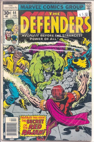 Defenders # 44, 7.0 FN/VF