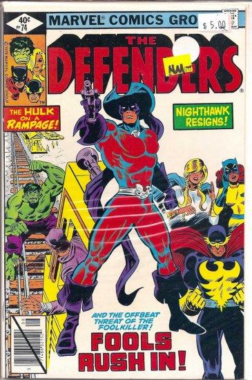 Defenders # 74, 9.2 NM -