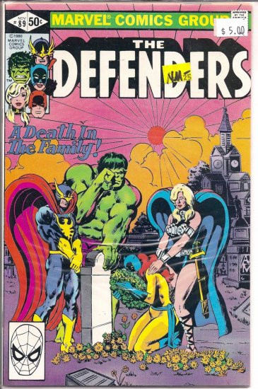 Defenders # 89, 9.2 NM -