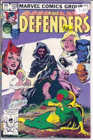 Defenders # 123, 9.2 NM -