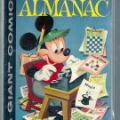 DELL GIANT COMICS MICKEY MOUSE ALMANAC # 1, 4.0 VG