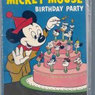 DELL GIANT COMICS MICKEY MOUSE'S BIRTHDAY PARTY # 1, 3.5 VG -