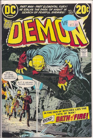 Demon # 2, 9.0 VF/NM
