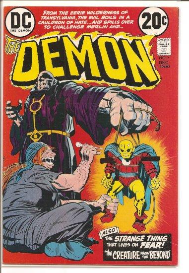 Demon # 4, 7.5 VF -