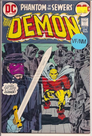 Demon # 8, 9.0 VF/NM