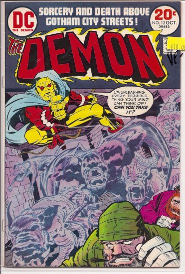 Demon # 13, 7.5 VF -