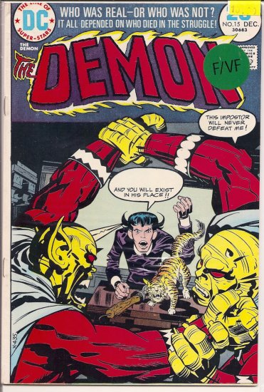 Demon # 15, 7.0 FN/VF