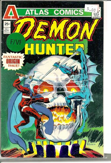 Demon Hunter # 1, 7.0 FN/VF