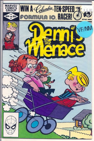 Dennis the Menace # 4, 9.0 VF/NM