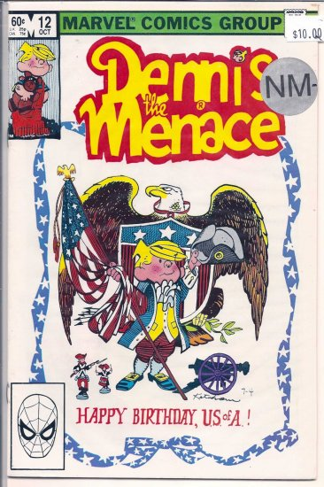 Dennis the Menace # 12, 9.2 NM -