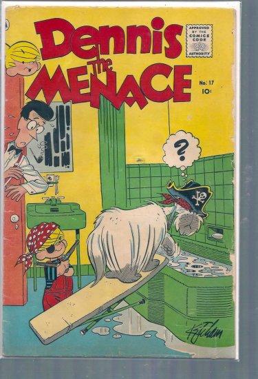 DENNIS THE MENACE # 17, 3.0 GD/VG