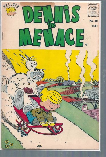 DENNIS THE MENACE # 40, 3.0 GD/VG
