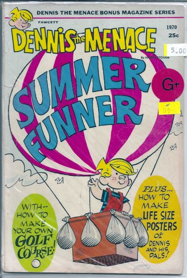 Dennis The Menace Bonus Magazine # 81, 2.5 GD +