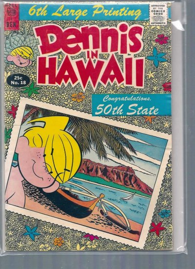 DENNIS THE MENACE GIANTS # 18, 4.5 VG +