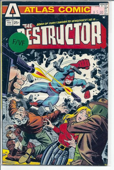 Destructor, The # 1, 7.0 FN/VF