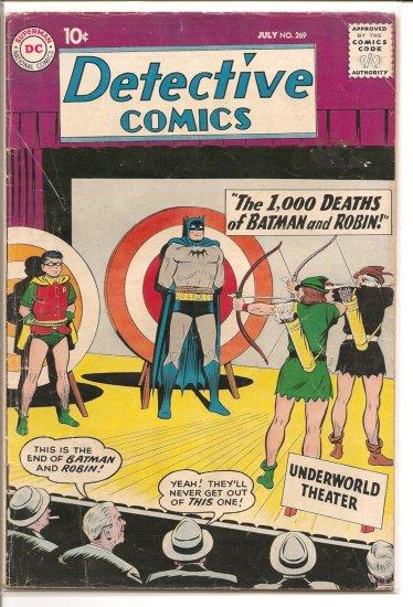 Detective Comics # 269, 3.5 VG -