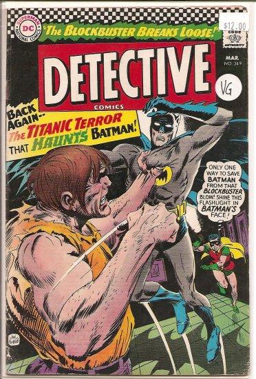 Detective Comics # 349, 4.0 VG