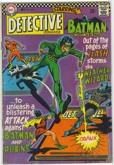Detective Comics # 353, 4.0 VG
