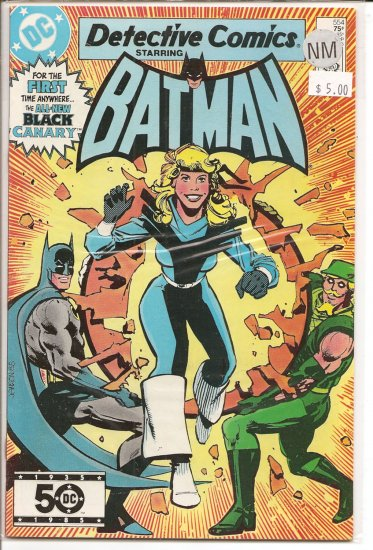 Detective Comics # 554, 9.4 NM
