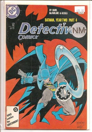 Detective Comics # 578, 9.2 NM -