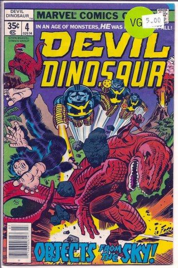 Devil Dinosaur # 4, 4.5 VG +