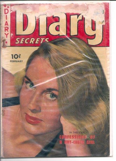 Diary Secrets # 8, 1.0 FR
