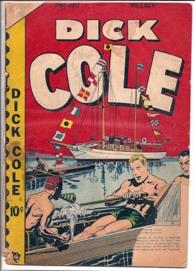 DICK COLE # 4, 0.5 PR